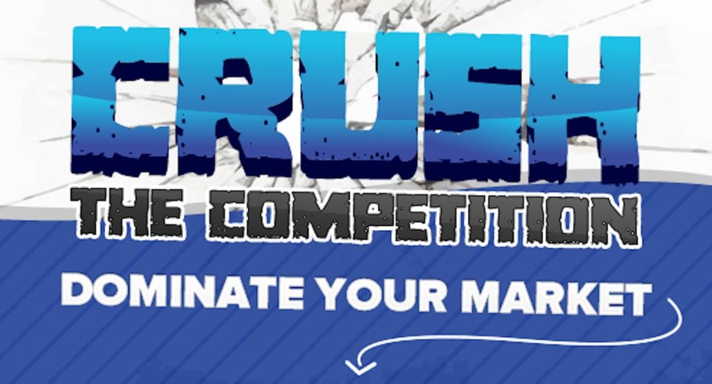 Website Competitor Competition CRUSHER Monthly Add-On Package